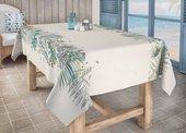 Скатерть Aitana Digital503, 140x100см, водоотталкивающая, льняной DP503/140100/palm