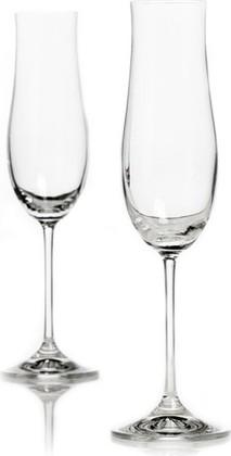 Фужеры для шампансого 180мл, 2шт. Аттимо Crystalite Bohemia 40807/180х2