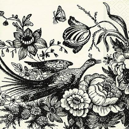 Салфетки для декупажа Романтические рисунки, 33x33см, 3 слоя, 20шт Paper+Design 21737