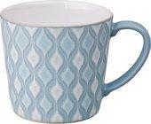 Кружка Denby Импрессия Hourglass голубой, 400мл 436010200