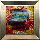 Картина стеклянная Top Art Studio Авангард 40x40см LG1236-TA