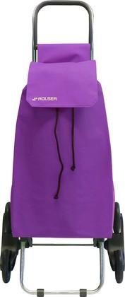 Сумка-тележка хозяйственная фиолетовая Rolser RD6 SAQUET SAQ006malva