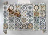 Скатерть Aitana Digital01, 140x100см, водоотталкивающая, пэчворк DP01/140100/patch