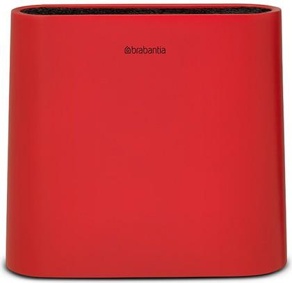 Подставка для ножей красная Brabantia Tasty Colours 108129