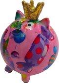 Копилка для денег Pomme-Pidou Хрюшка мини, розовый 9x9x11см 148-00408/C