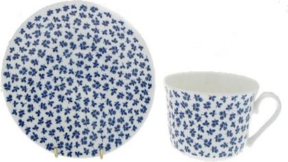 Чайная пара для завтрака Маленькие розочки 500мл Roy Kirkham XPET1100