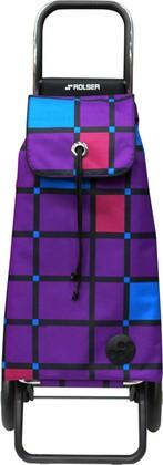 Сумка-тележка хозяйственная фиолетовая Rolser RG MOUNTAIN MOU107more