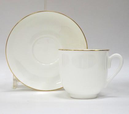 Чашка с блюдцем Золотой кантик ф. Ландыш ИФЗ 81.14287.00.5