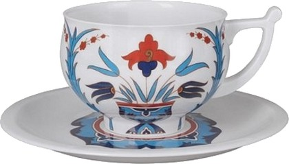 Чашка с блюдцем Гюзеллик, ф. Кострома ИФЗ 81.23723.00.1