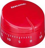 Таймер кухонный механический Tescoma Presto, 60 мин, красный 636070.20