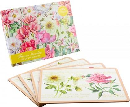 Подставки на пробке Цветущий сад 4шт 30x22см The Leonardo Collection LP92338
