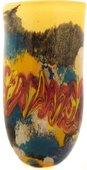 Ваза Top Art Studio Богема 44см, цветное стекло ZB2622-AG