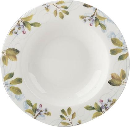 Тарелка суповая 27см Весенние фрукты Creative Tops 5200005