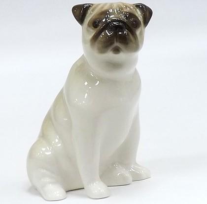 Скульптура Мопс сидящий Ники ИФЗ 82.81317.00.1