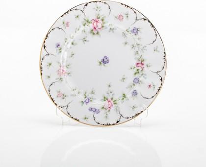 Набор тарелок Сакура, 19см Porcelaine Czech Gold Hands LUISA027GTD19х6