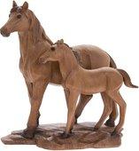Статуэтка Lesser & Pavey Лошадь с жеребенком 24x22см, полистоун LP44372