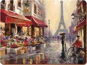 Подставки на пробке Французские каникулы 40х29см, 4шт Creative Tops 5176711