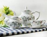 Чайный сервиз Шарман, 6 персон, 15пр. Top Art Studio LD1381-TA