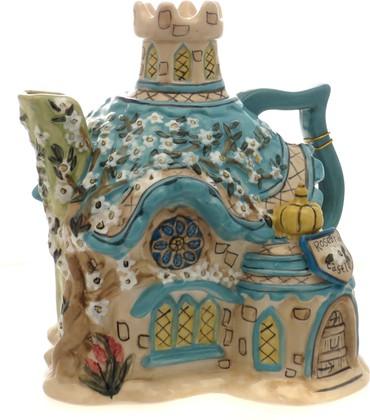 Чайник заварочный Цветочный замок 21x19см Blue Sky 13355