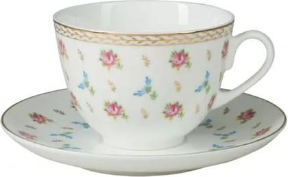 Чашка с блюдцем ИФЗ Весенняя-2, Цветочный вальс 81.26311.00.1