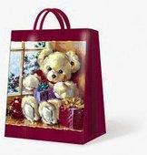 """Пакет подарочный """"Мишка Тэдди"""", 26.3x33x13.5см Paw AGB013605"""