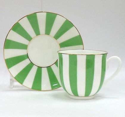 Чашка с блюдцем «Да и нет» (салатовый), ф. Ландыш ИФЗ 81.23055.00.1