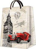 "Пакет подарочный ""Лондонский туман"" 30x41x12см Paw AGB015702"