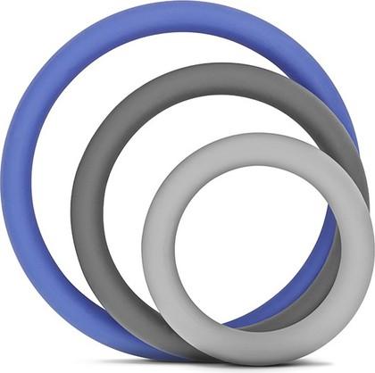 Набор из 3 подставок под горячее, серые с синим Brabantia 621024