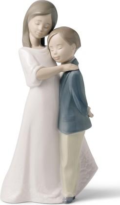 Статуэтка фарфоровая Братская любовь (Sisterly Love) 22см NAO 02001568