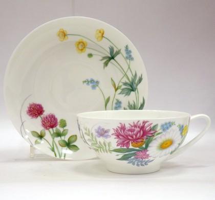 Чайная пара ИФЗ Купольная, Полевые цветы-2 81.23108.00.1