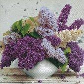 Салфетки Букет Весной, 33x33см, 20шт Paper+Design 200213