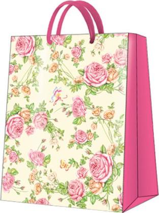 """Пакет подарочный """"Садовые Розы"""" 26.5x33.5x13см Paw AGB017505"""