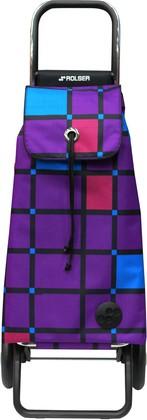 Сумка-тележка хозяйственная фиолетовая Rolser LOGIC RG PAC058more