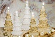 Свеча Ёлочка 16см Bartek Candles 5907602672572