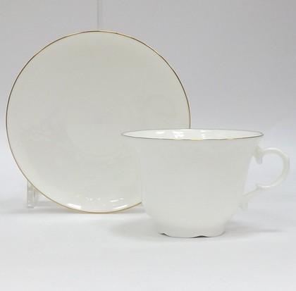 Чашка с блюдцем Золотой кантик 9, ф. Жасмин ИФЗ 81.14061.00.1