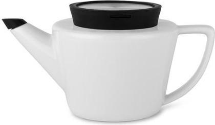 Чайник заварочный Viva Scandinavia Infusion, с ситечком, 0.5л, фарфор, чёрный V34801
