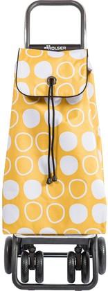 Сумка-тележка хозяйственная желтая с рисунком Rolser I-Max Symbol IMX091Amarillo