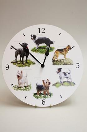 Часы настенные Собаки, 30см The Leonardo Collection LP22651