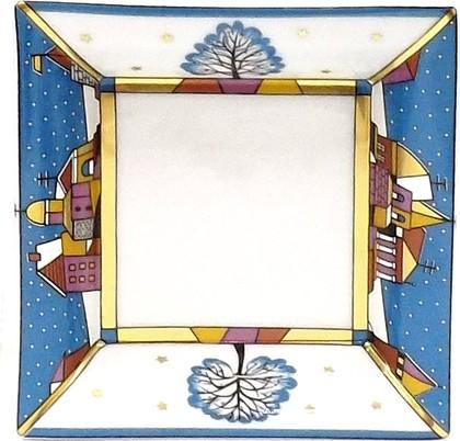 Подставка для мелочи Зимние грёзы, 100х100мм ИФЗ 80.65025.00.1