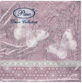 Салфетки для декупажа Бабочки на белье, 33x33, 20шт Paw SDL086900