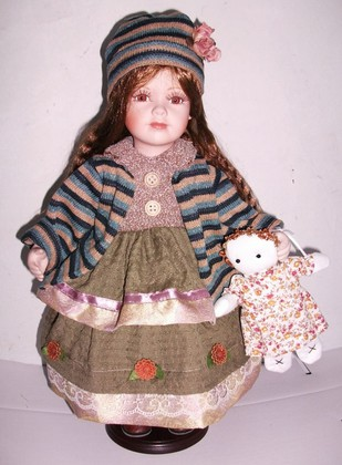 Кукла фарфоровая Top Art Studio Ванесса 41см WA0362-TA