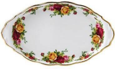 Поднос для сахарницы и кремника Розы Старой Англии, 25х14см Royal Albert IOLCOR00076