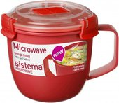 Кружка суповая Sistema Microwave, 565мл 1142