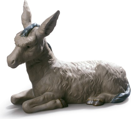 Статуэтка Осёл (Donkey), фарфор NAO 02012022