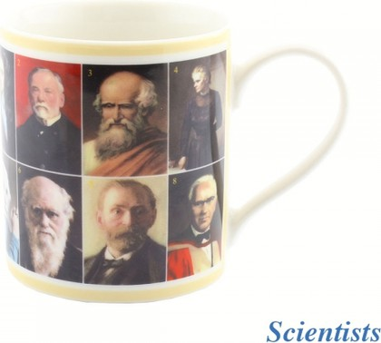 Кружка Lesser & Pavey Знаменитые ученые, 350мл LP92228