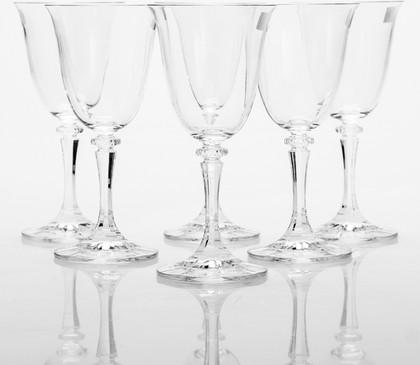 Фужеры для вина Клеопатра 250мл, 6 шт Crystalite Bohemia 1SC33/250
