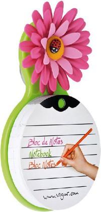 Блокнот Vigar Flower power 6476