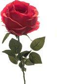 Цветок искусственный Atelier de Fleur Роза Престиж шиповник красная 68см WAF1152-TA