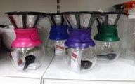 Кофейник с фильтром 1.0л, цвет в ассортименте Bodum POUR OVER A11571-XYB-Y15