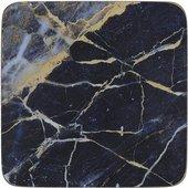 Подставки под чашку Creative Tops Navy Marble 10.5x10.5, 6шт, пробка 5233731